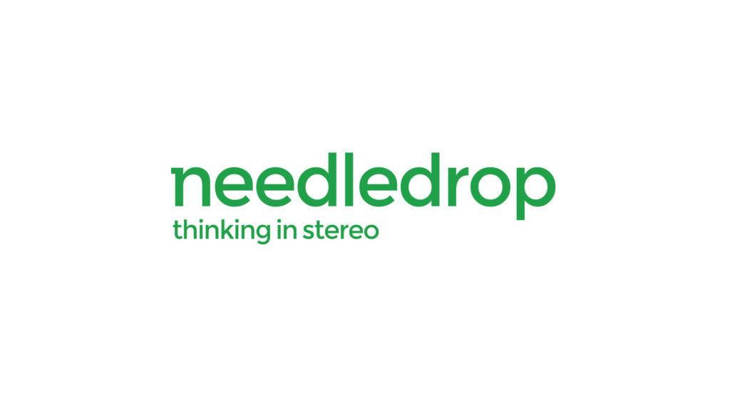 Needledrop logo design with tagline