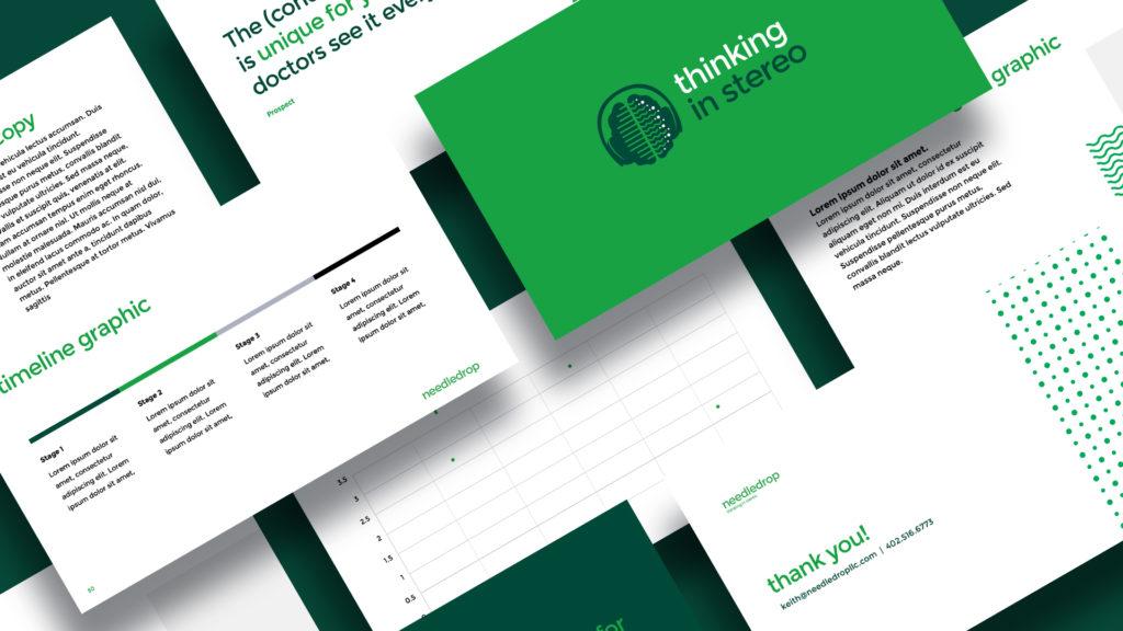 Needledrop presentation design