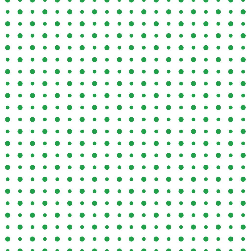 Needledrop brand pattern - dots