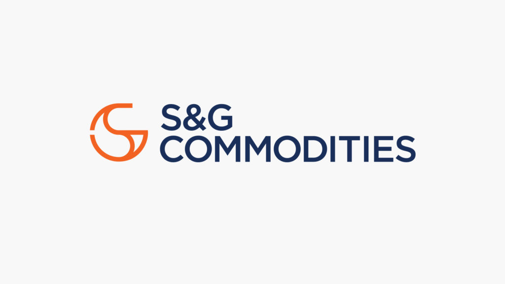 S&G Commodities logo on white background
