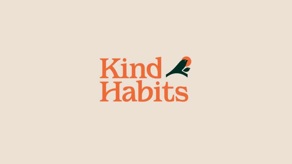 Image of the Kind Habits logo.