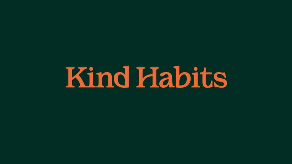 Image of the Kind Habits wordmark.