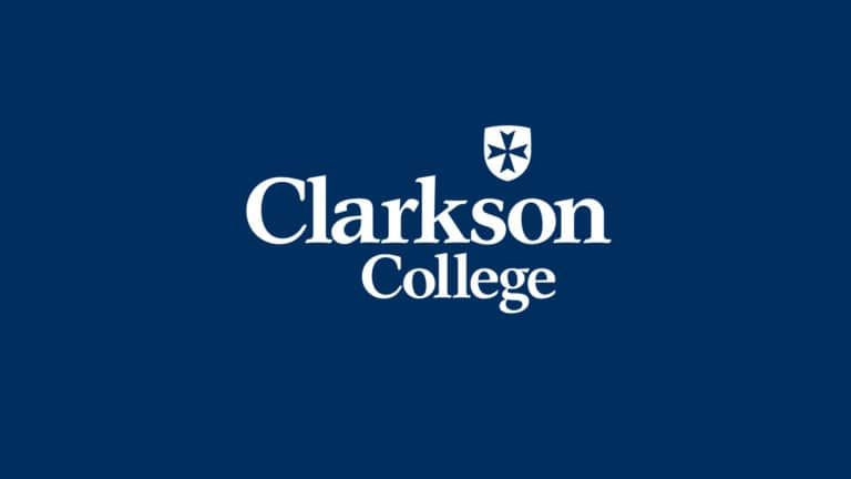 Image of the Clarkson College logo.