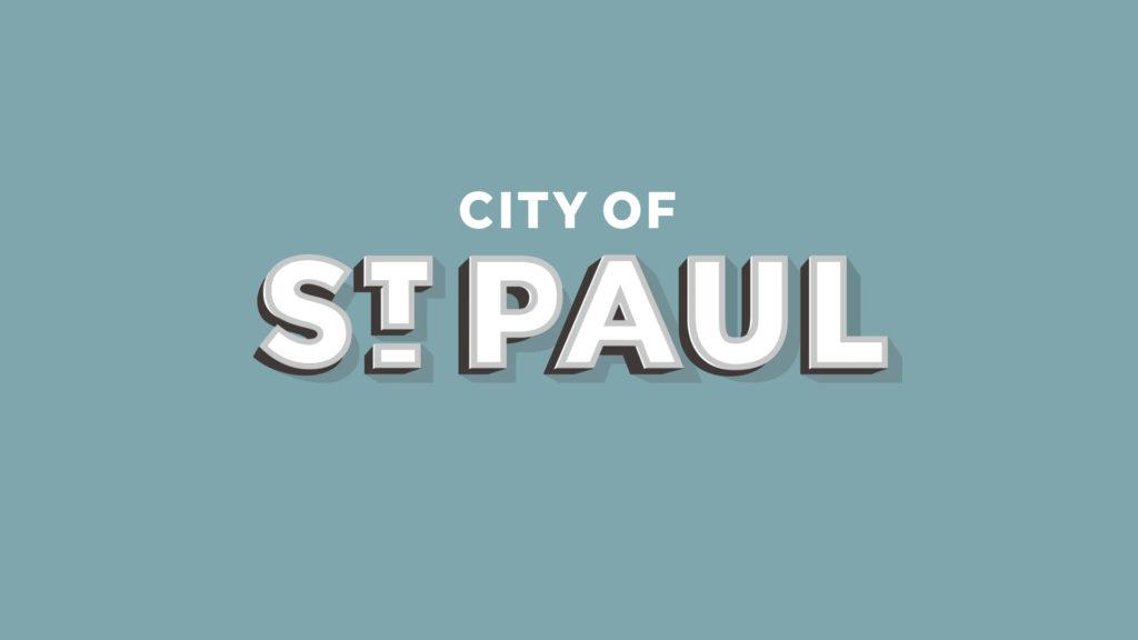 City of St. Paul, Nebraska logo.