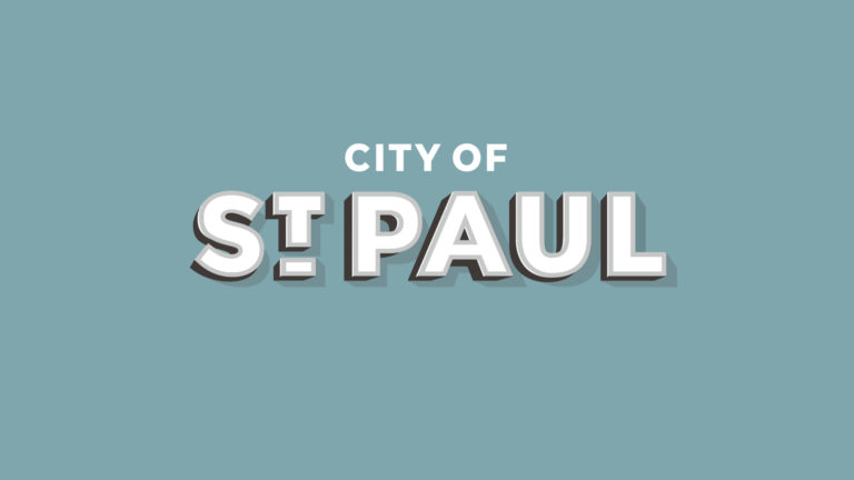 City of St. Paul, Nebraska logo.