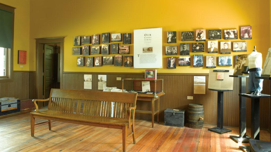 Image of a museum in St. Paul, Nebraska.