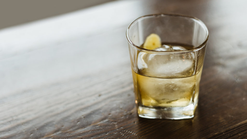 Image of a distillery drink.