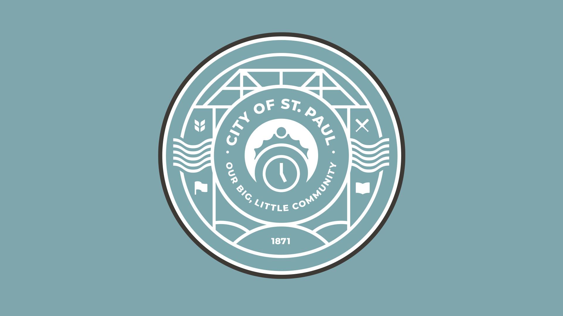 Image of the new St. Paul, Nebraska city seal.