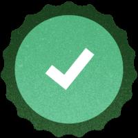Brewery branding checklist bottle cap icon